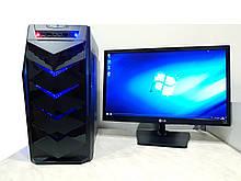 Игровой ПК + монитор 22 LED Intel Core i5 4590 4 ядра x 3.7GHz, GTX 750ti 2Gb, DDR3 8Gb