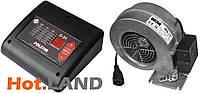 Комплект автоматики POLSTER C-31 + вентилятор WPA117 для котла, фото 1