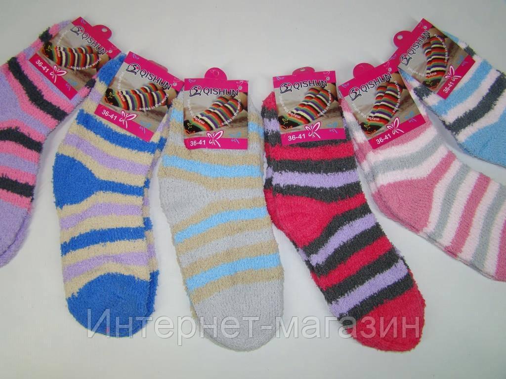 Женские махровые носки Qishun (размер 36-41) код 13120