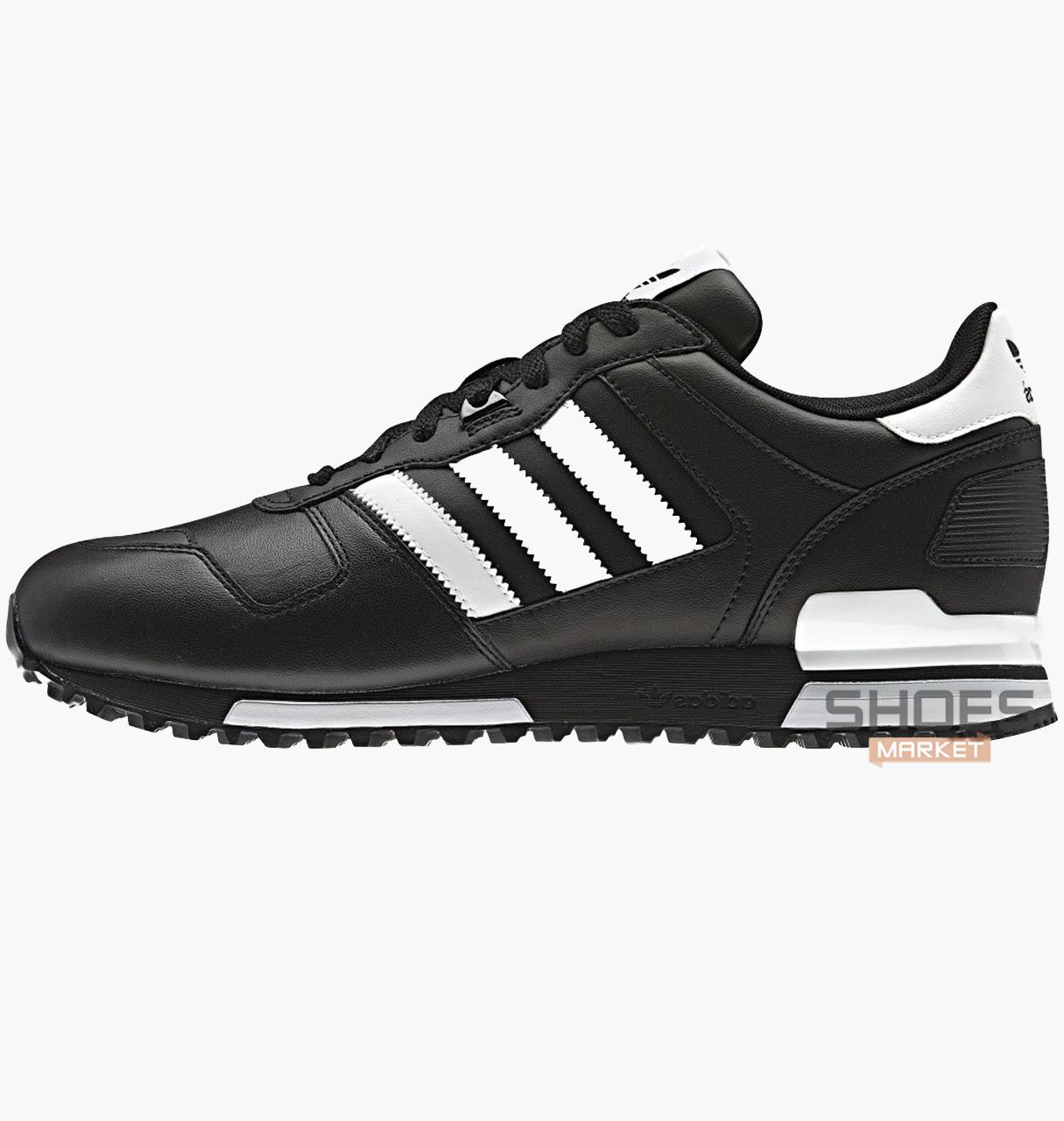 Мужские кроссовки  Adidas ZX 700 Black G63499, оригинал