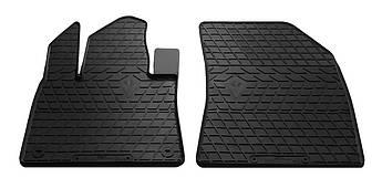 Коврики в салон резиновые передние для Citroen C4 Picasso 2013- Stingray (2шт)