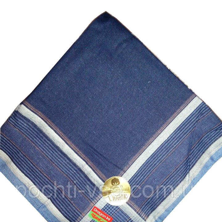Носовой платок мужской, темные (40х40)