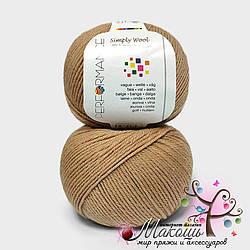 Пряжа Simply wool Performance Yarn (Болгария), №217, беж