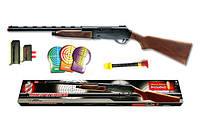Детское ружьё EDISON Mike Peterson 87см 12-зарядное с мишенью и пульками