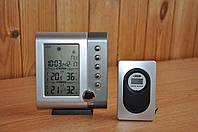 Домашняя Метеостанция с внешним радио датчиком М-105, фото 1
