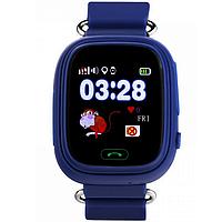 Детские телефон-часы с GPS трекером Smart Watch Q90 Синие 2623, КОД: 149278