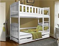 Кровать детская деревянная двухъярусная Модди, фото 1