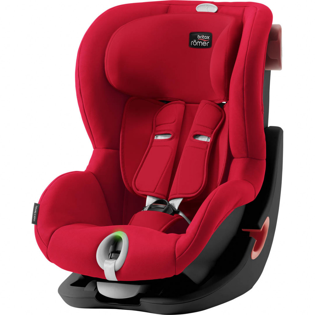Автокресло BRITAX-ROMER KING II LS BLACK SERIES / Fire Red