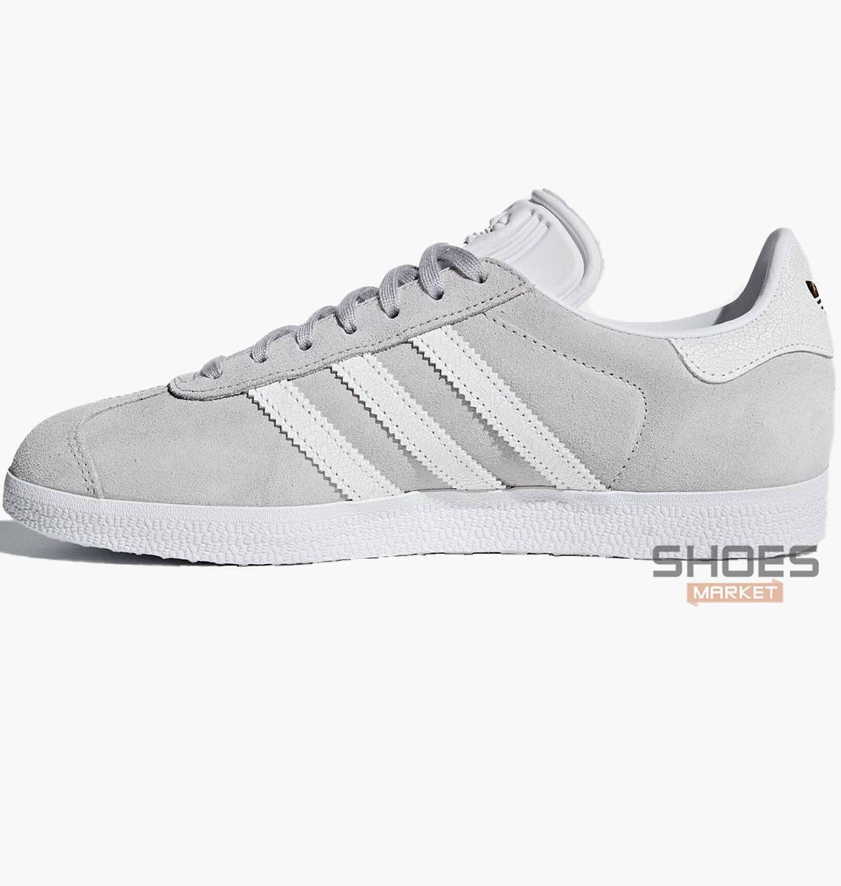 Мужские кроссовки  Adidas Gazelle W Gray B41659 , оригинал