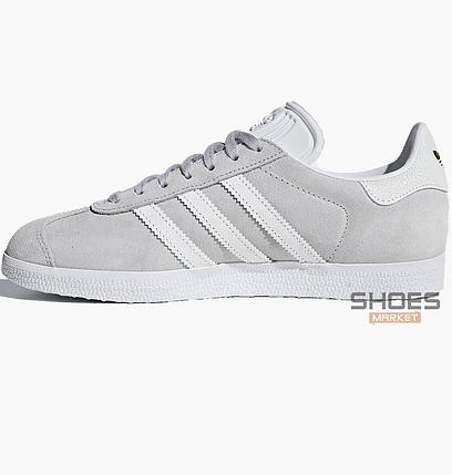 Мужские кроссовки  Adidas Gazelle W Gray B41659 , оригинал, фото 2