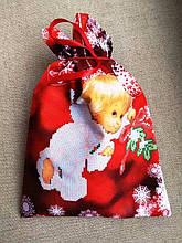 ШМР-102. Великий подарунковий мішечок для цукерок і різних маленьких іграшок