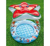 """Надувной детский бассейн """"Звезда"""" Intex 57428 с навесом"""