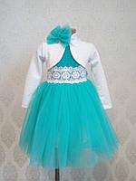Детское платье для девочки с болеро