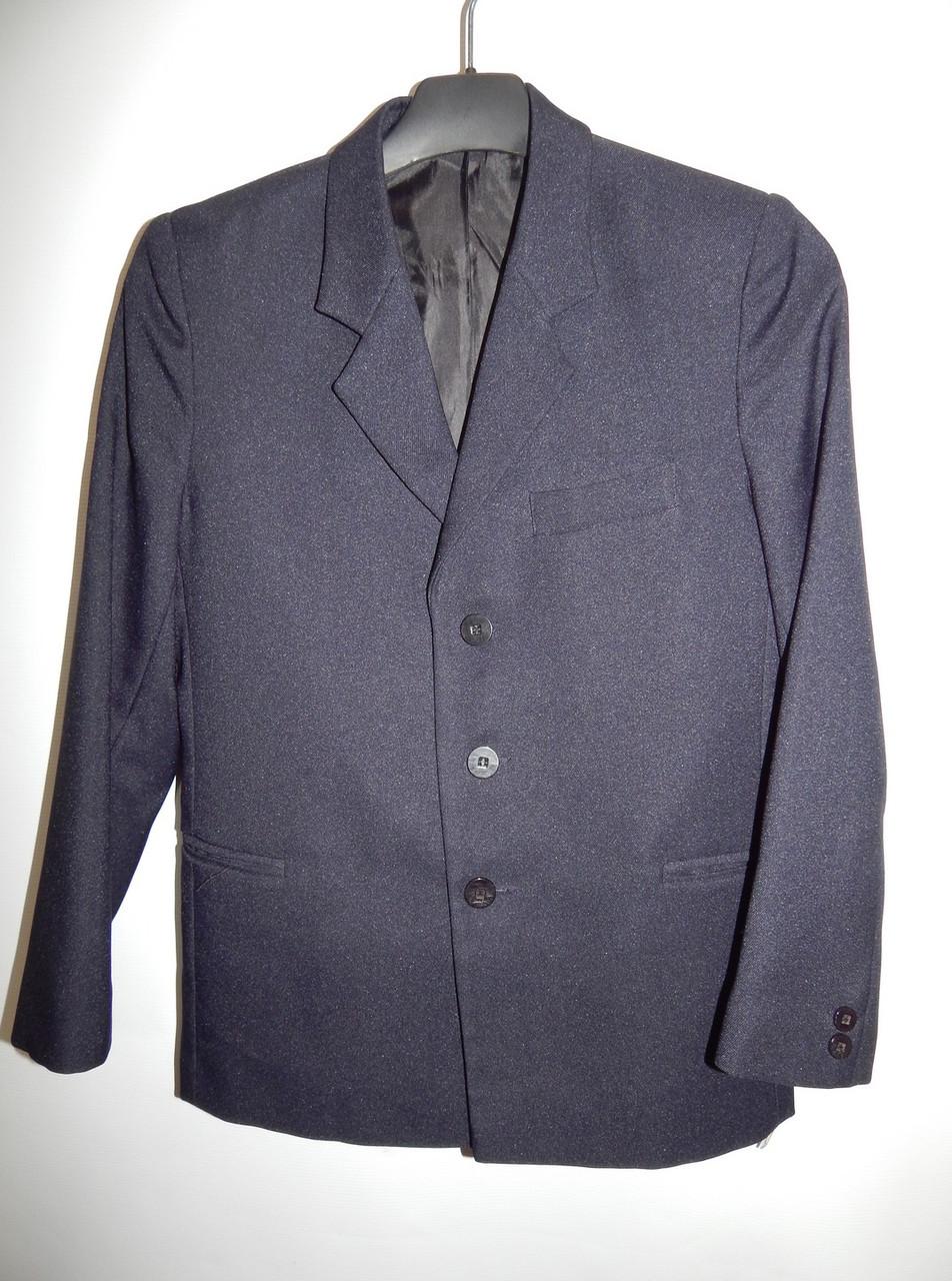 Пиджак школьный для мальчика, рост 134-140см.,8-9 лет 039GM