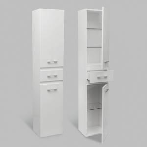 Пенал для ванної кімнати NORWAY AVALON 35 білий правий