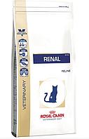 Сухой лечебный корм Royal Canin RENAL FELINE Роял Канин для кошек лечение почек 4 кг