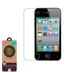 Захисне Скло Remax 2pcs Round Cut Tempered Glass for iPhone 4