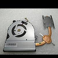 Система охлаждения для ноутбука Asus K401LB K401L K401 (СО + фан) 13NB07W1AM0501