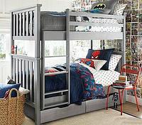 Кровать детская деревянная двухъярусная Хетти, фото 1