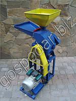 Универсальный кормоизмельчитель ДКУ-06 для зерновых (600кг/час), сочных кормов (900кг/час) и сена  3кВт/220В, фото 1