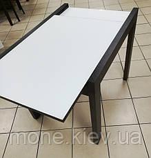 """Стол прямоугольный раздвижной со стеклом """" Соренто-1"""" (В НАЛИЧИИ), фото 3"""