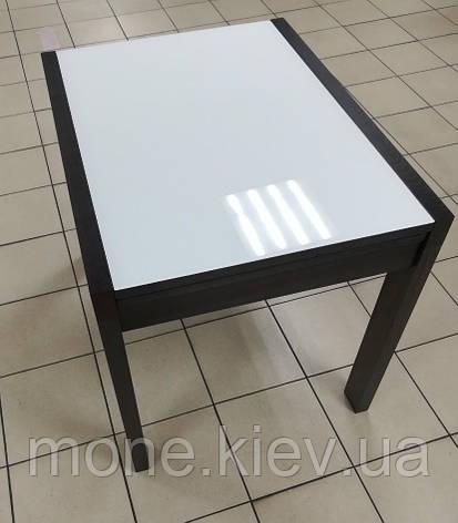 """Стол прямоугольный раздвижной со стеклом """" Соренто-1"""" (В НАЛИЧИИ), фото 2"""