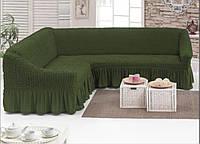 Чехол на угловой диван Турция