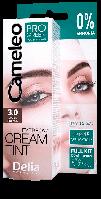 Крем-фарба для брів Delia CAMELEO - PRO-GREEN 3.0 темно-коричнева ( без аміачна)
