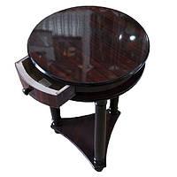 Интерьерный стол подставка с ящичком