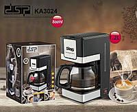 Домашняя кофеварка DSP Kafe Filter KA3024, простая и удобная в использовании