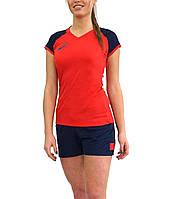 Женская волейбольная форма ASICS WOMAN VOLLEYBALL CAP SLEEVE SET  (156862-0600) f90bd625ddd