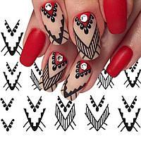 Слайдер дизайн для ногтей на водной основе, фото 1