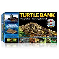 Декорация для террариума Exo Terra «Turtle Bank» Плавающий остров M 30 x 18 x 5 см (пластик) PT3801