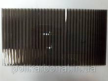 Поликарбонат сотовый Novattro (Новаттро) 4мм бронза