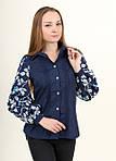 Женская вышитая рубашка в современном стиле, фото 2