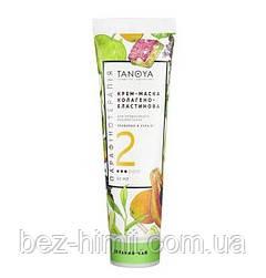 Крем-маска для лица, рук и ног. «Зеленый чай». 60 мл.