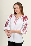 Современная блуза вышиванка с вышивкой крестиком, фото 3