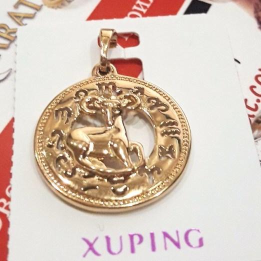 "Кулон xuping  знак зодиака ""Овен""  2.7см 9213"
