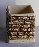 Горшок керамический Камень №3