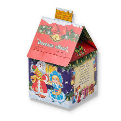 Новогодний подарок Веселих свят 150 гр