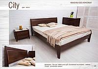 Кровать Сити без изножья с филенкой, фото 1