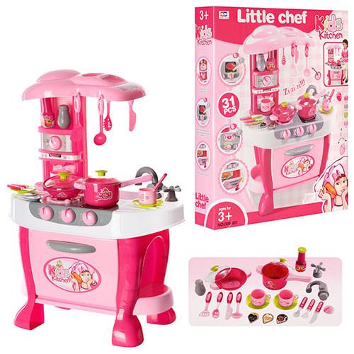 Детская кухня с посудой №4 - Звуковые и световые эффекты