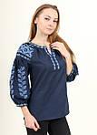 Современная блуза вышиванка с вышивкой крестиком, фото 4