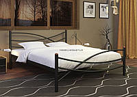 Кровать Глория 160*200 черный бархат