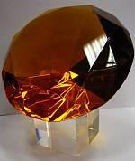 Кристалл 8 см. с хрустальной подставкой
