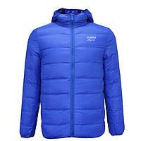 Куртка мужская пуховик с капюшоном Lee Cooper Seamless Down Jacket Mens гусиный пух перо ультра легкая
