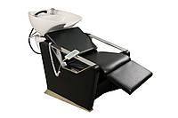 Кресло-мойка E006 Кресло-мойка черный матовый ЖАТЫЙ