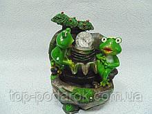 """Кімнатний Фонтан""""Квакающие жаби"""" Габарити: 27х20х16 см"""