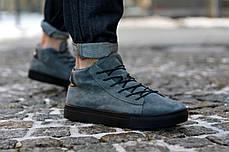 Зимние ботинки, кроссовки на меху Look Force (Серые), фото 2