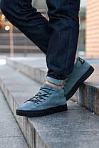 Зимние ботинки, кроссовки на меху Look Force (Серые), фото 3